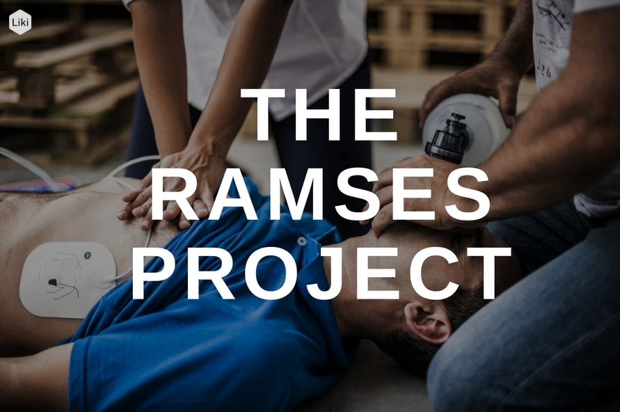 life rescue app ramses project at hackathon am ring